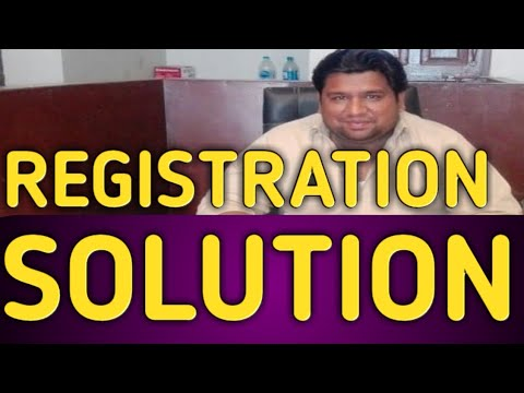 Registrations solution