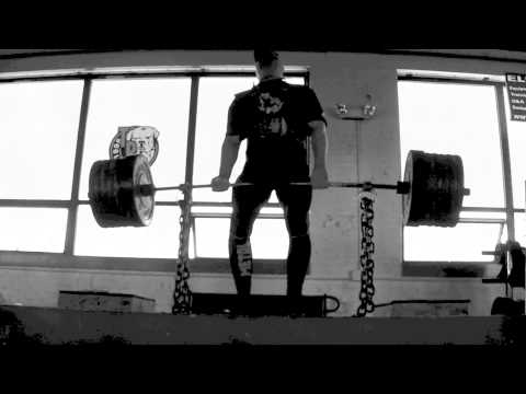 "Deadlift with Chain from 4"" Block 675/40 PR"