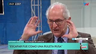 El exalcalde de Caracas habló sobre la crisis en Venezuela