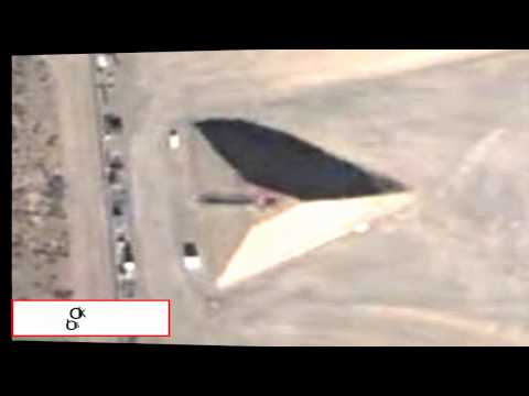 Mystery Pyramid At Area 51 2013
