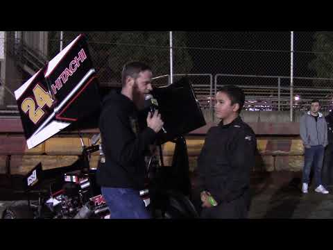 Sunset Speedway - Banks, OR - Micro 600R A Main Winner Interview - Sept. 22, 2018