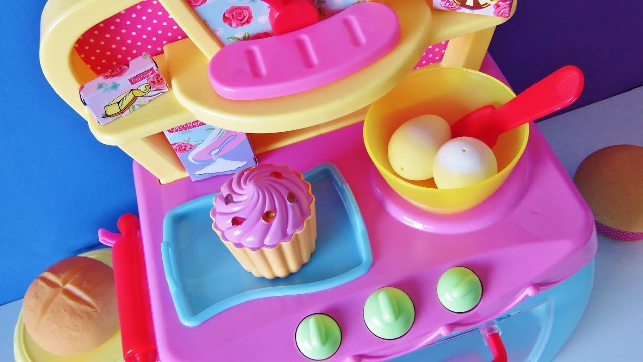 Electronic Magic Toy Oven Baking Bread Rolls Muffins Sp