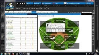 Out of the Park Baseball - Myrtle Beach Farm Team Ep. 6 Depth Charts