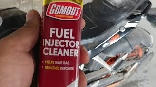 Does Gumout Fuel Injector Cleaner Actually work?|Duke 390| Part I