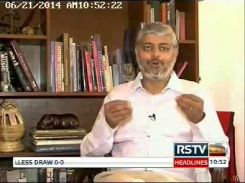 Vivek Menon's Interview on Rajya Sabha T.V
