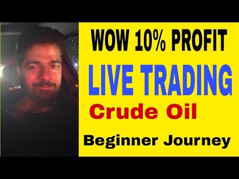 WOW -10% Profit – (MCX)Live Trading – Crude Oil Mini