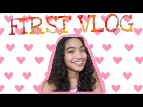 FIRST VLOG😋 | Vivienne Sandoval