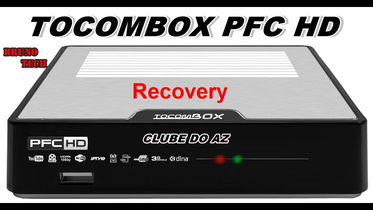 Recovery Tocombox PFC HD (01/12/15) V1 e V2 - YouTube