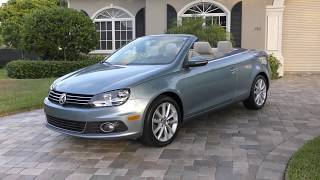 2012 Volkswagen Eos Komfort Convertible Review and Test Drive by Bill - Auto Europa Naples