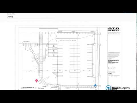Cushman & Wakefield Waterloo Region | Drone Map Site Plan Overlay by DroneDeploy