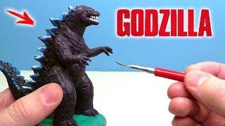 Making Godzilla from Clay Tutorial