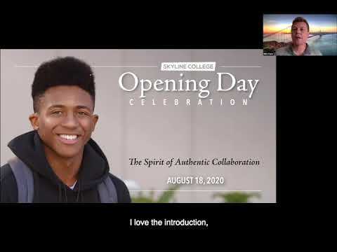 Skyline College Fall 2020 Opening day