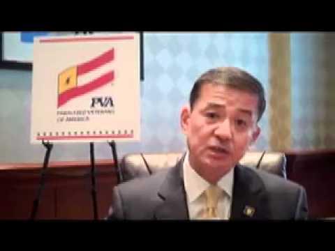 Paralyzed Veterans' Lani Poblete interviews VA Secretary Eric Shinseki, part 1