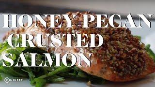 Honey Pecan Crusted Salmon