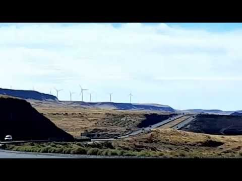 NW Windmills. Green energy.