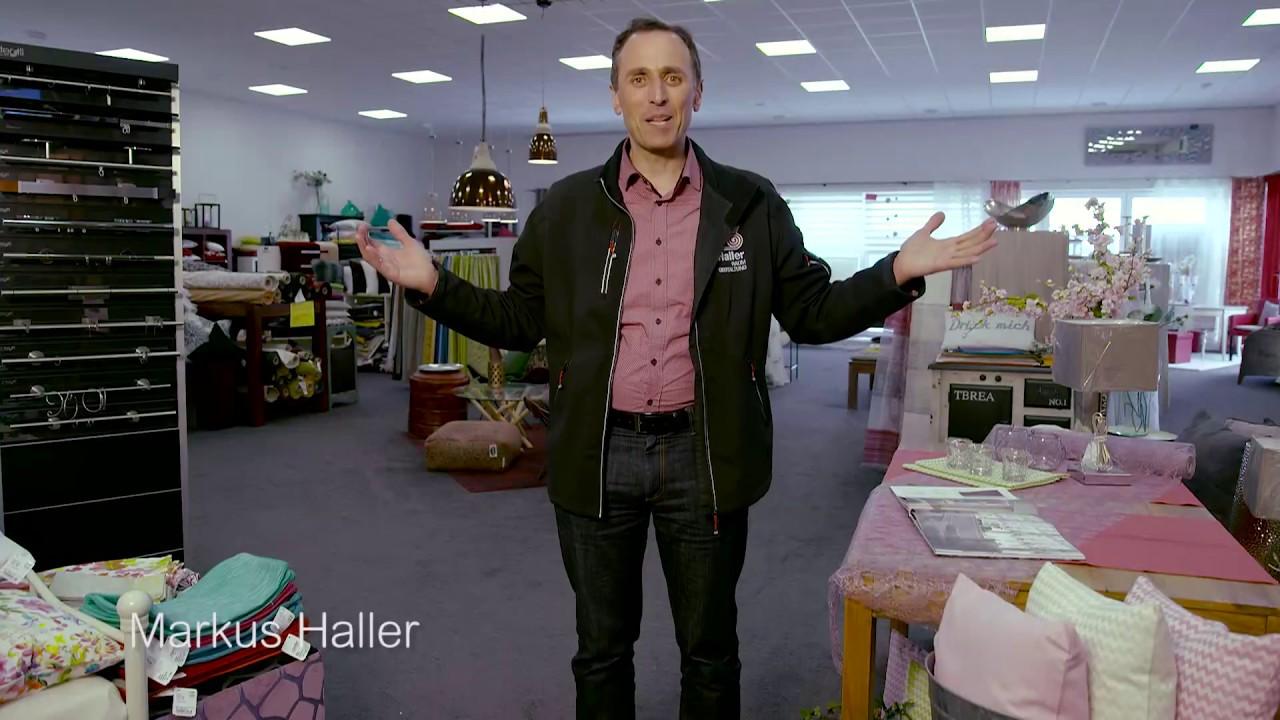 Markus haller stellt vor markus haller raumgestaltung for Raumgestaltung youtube