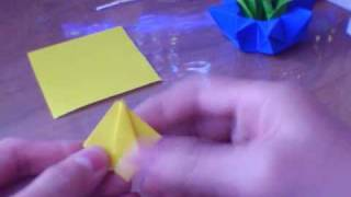 How To Make An Origami Tulip + Stem