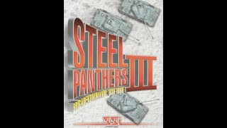 Steel Panthers III (1997) on PCEM V13.1 with MS-DOS 6.22 Video