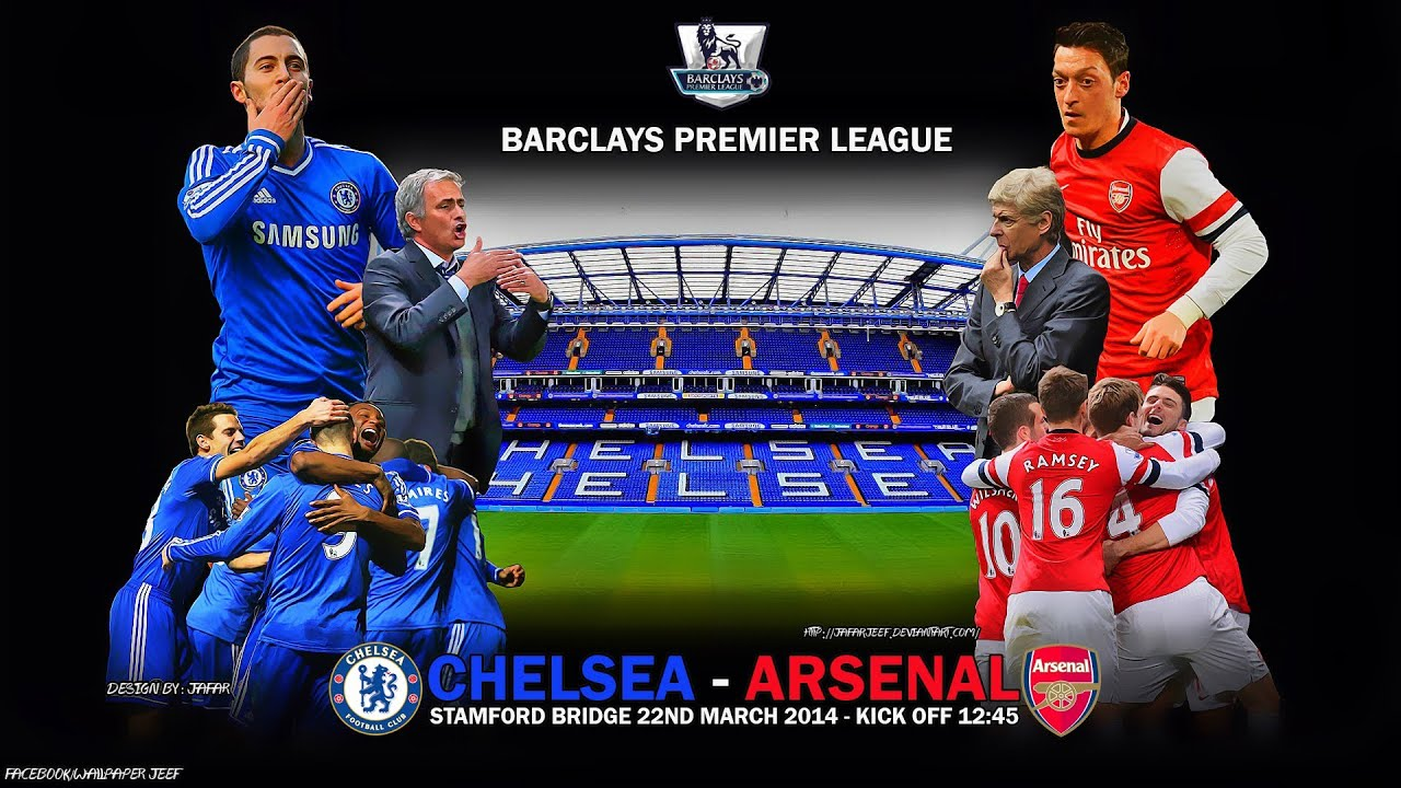 Chelsea vs Arsenal - London Derby Promo. Highlights 19-09-2015