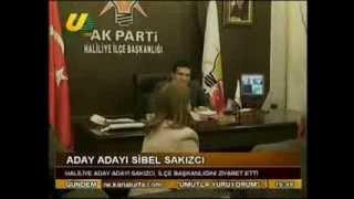 Sibel Sakızcı'dan AK Parti Haliliye İlçe Başkanlığına Ziyaret