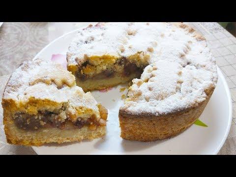 Видео: Очень Вкусный Пирог  к Чаю .Рассыпчатое Тесто ,просто Тает во Рту.