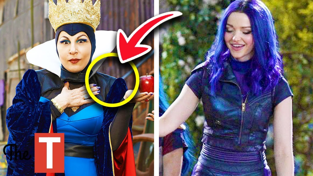 10 Subtle Things About The Descendants 3 Costumes Disney Is Trying To Hide  From You