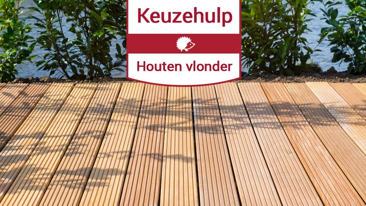 Houten Tuin Vlonders : Keuzehulp houten vlonder kiezen youtube