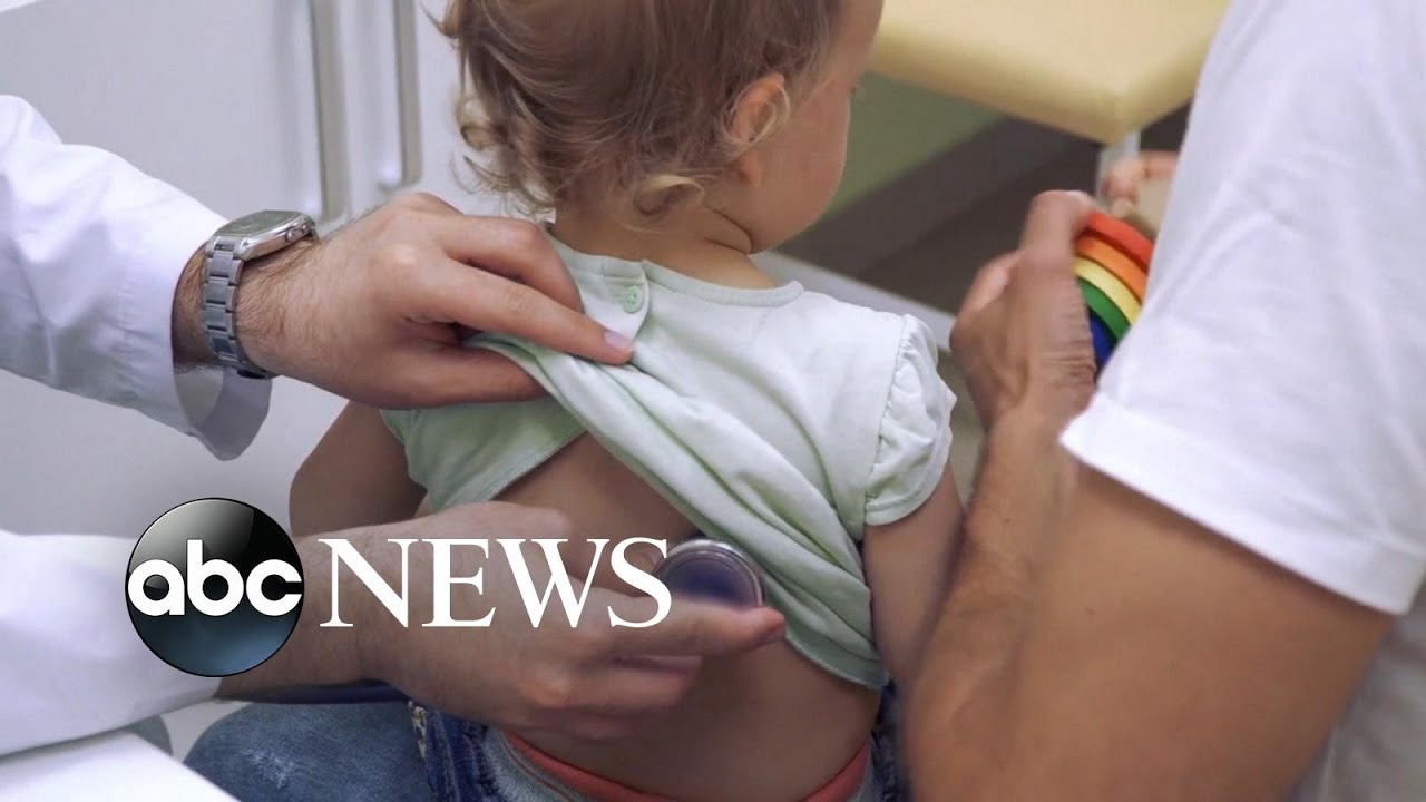 Surge in number of children testing positive for coronavirus
