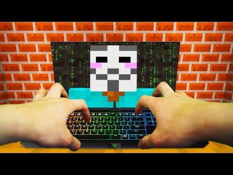 REALISTIC MINECRAFT - STEVE BECOMES A HACKER! 😎 💻 - Видео из Майнкрафт (Minecraft)