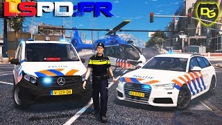 Die Niederländische Polizei - GTA 5 LSPD:FR #190 - Daniel Gaming - Deutsch