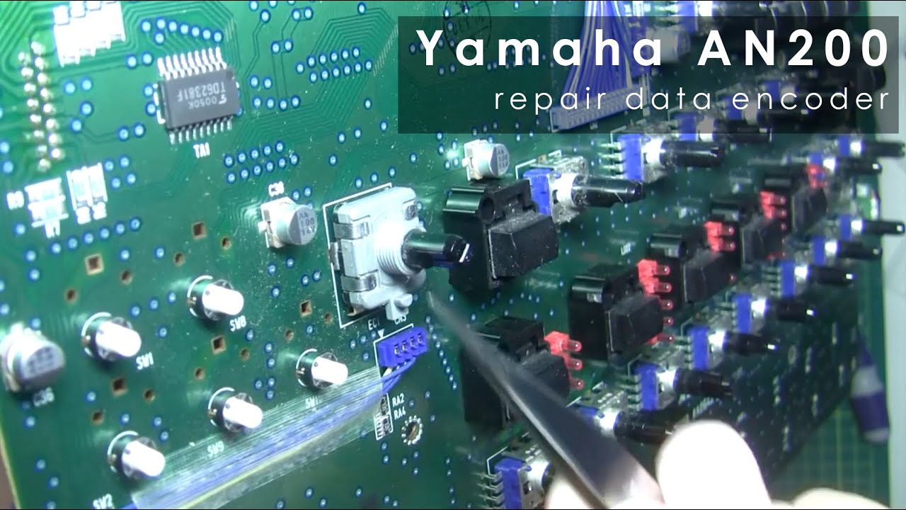 YAMAHA DX200 Ersatz-Encoder