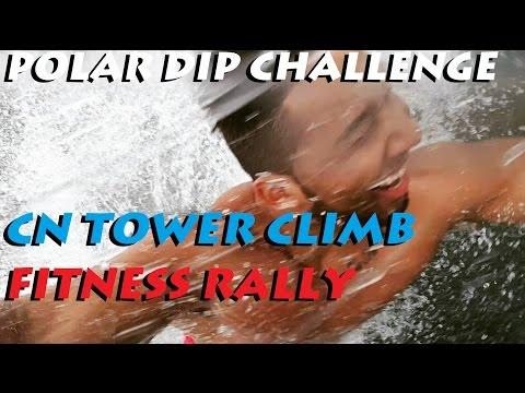WWF Polar Dip | CN Tower Climb Fitness Rally Seminar