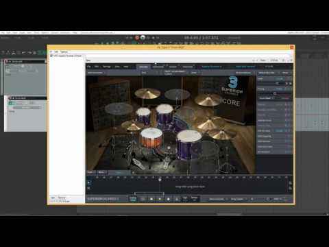 Superior Drummer 3 Multi Channel Outs In REAPER 6