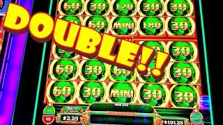 I WON AGAIN!!! * DOUBLE THE DOLLARS!!! * DOUBLE THE WIN!!! - Las Vegas Casino Slot Machine Big Bonus