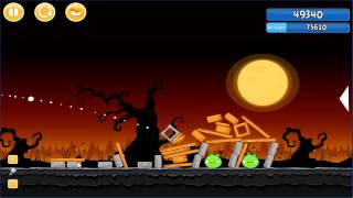Angry Birds trick or treat 3 Estrellas parte 2-6