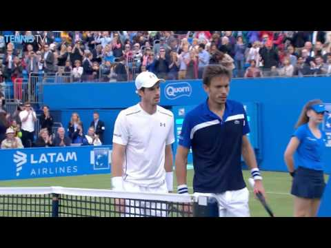 2016 Aegon Championships: Tuesday Highlights ft. Wawrinka & Murray