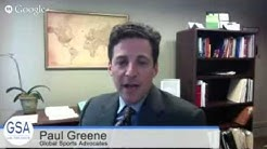 SCI TV, Episode 61, March 5, 2015 (Legal Issues in Sports; Paul Greene)