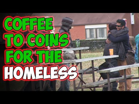 Coffee To Coins For The Homeless (MagicOfRahat)