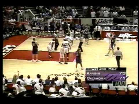 #1 Kansas Jayhawks at #25 Oklahoma Sooners - 1995 - Basketball - Part 8