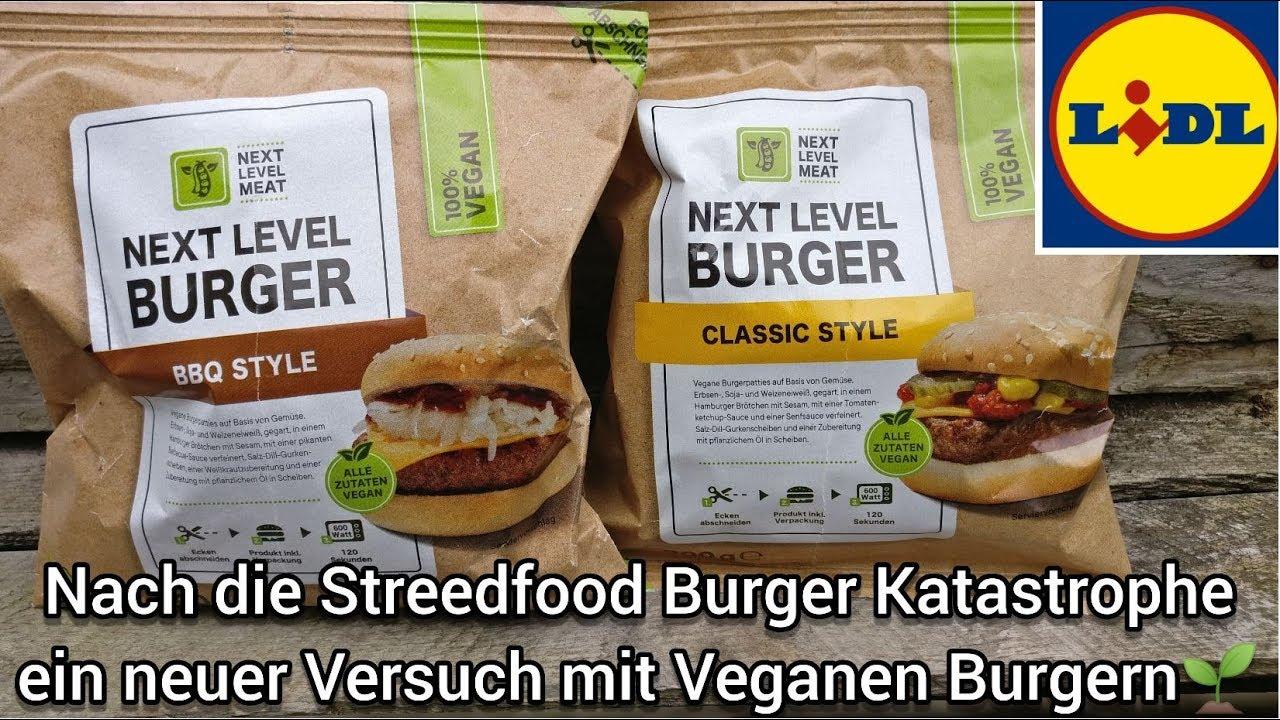 Lidl veganer burger
