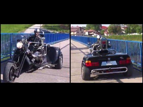 Custom BMW 3 Wheel Motorcycle