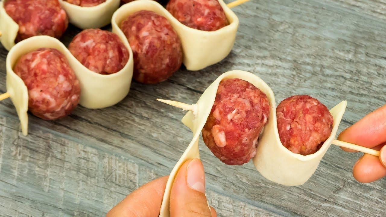 Самые простые ингредиенты, а результат – обалденный! Очень вкусное мясное блюдо! | Appetitno.TV