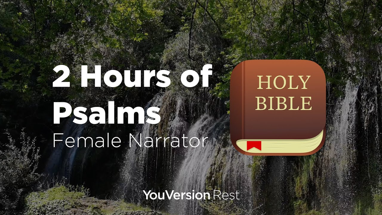 Bible Verses for Sleep and Meditation - 2 hours (Female Narrator)