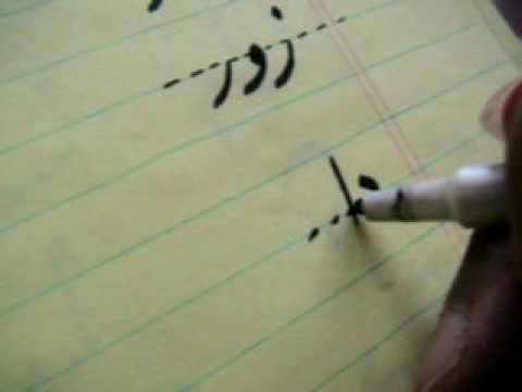 Persian Farsi alphabet lesson 3 -  EE- OH - حروف الفبای فارسی