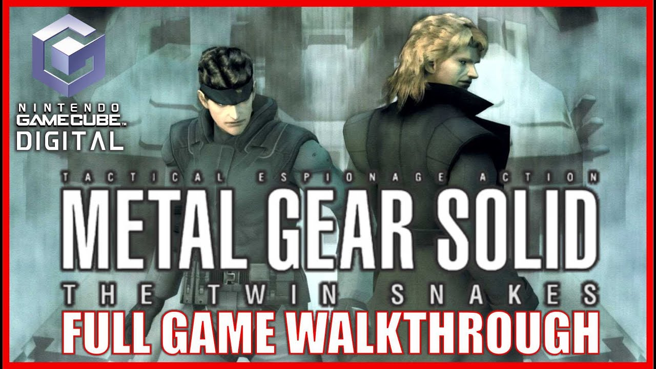 Download METAL GEAR SOLID Remake THE TWIN SNAKES Gameplay Walkthrough FULL GAME [GameCube] No Commentary
