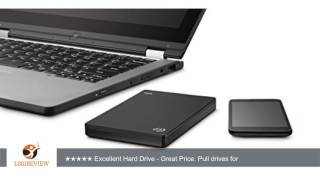 Seagate Backup Plus Slim 500GB Portable Hard Drive with 200GB of Cloud Storage & Mobile Device