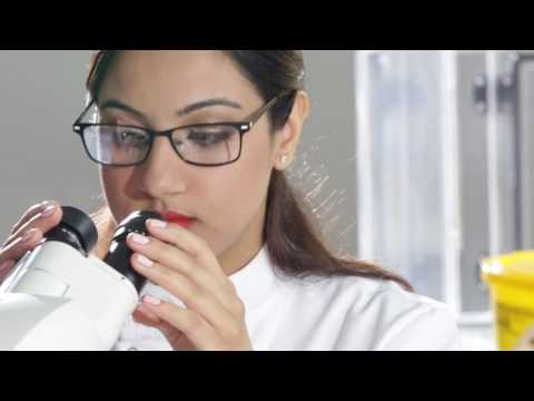 DMU 2016/17 TV ad – Shivani stars in lab scenes