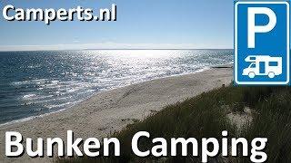 Bunken Strand Camping,  Aalbæk, Nordjylland, Denemarken (English subtitled)