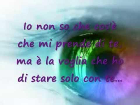 Per La Vita Mia Frasi E Musica Da Canzoni Damorewmv Youtube