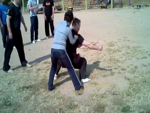 Training with Qin Guihua - Qingdao 2012